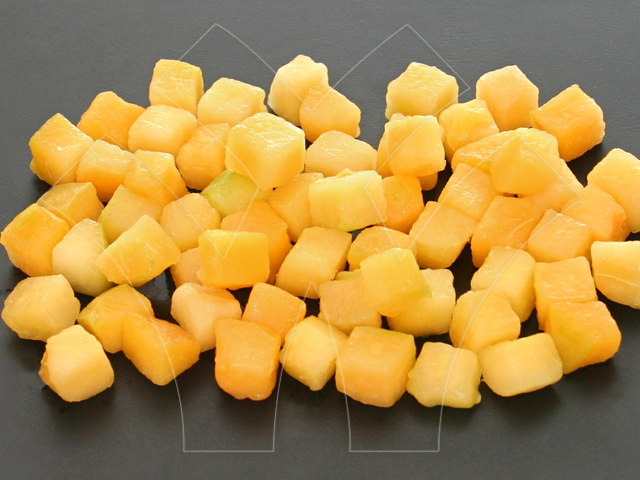 Apricot dices